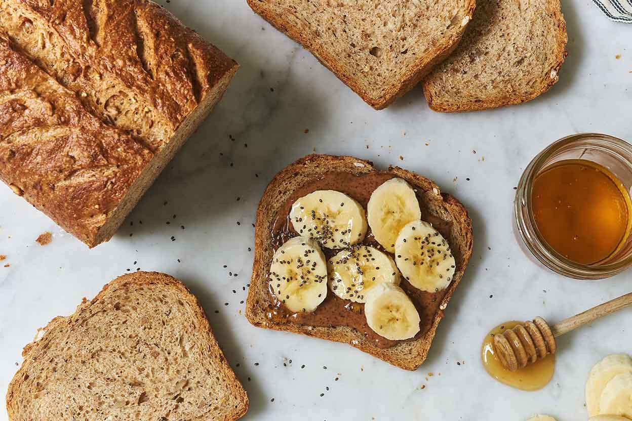 Multigrain Sourdough Bread  Seeded Multigrain Sourdough Bread Recipe