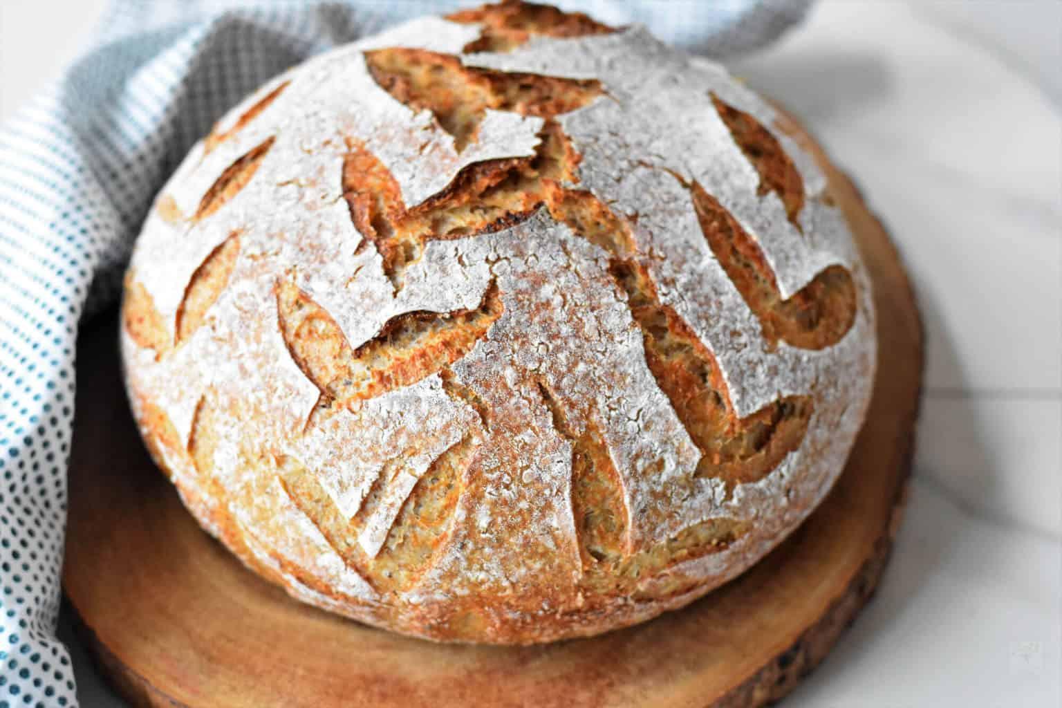 Multigrain Sourdough Bread  Multigrain sourdough bread Zesty South Indian Kitchen