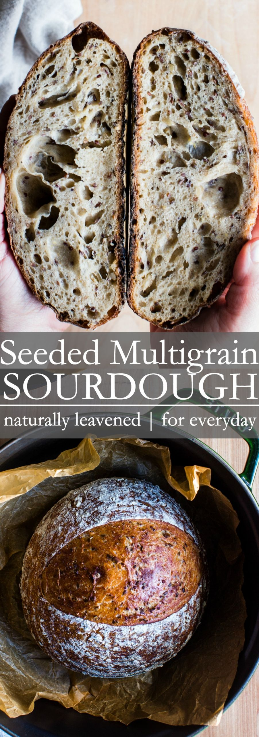 Multigrain Sourdough Bread  Seeded Multigrain Sourdough Bread
