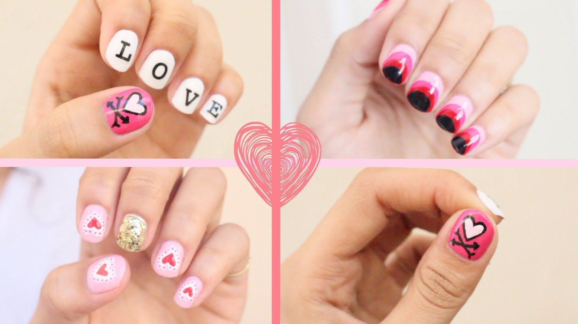 Nail Art Valentines Day Design  Cute And Cool Valentine's Day Nail Art Design Ideas – Your