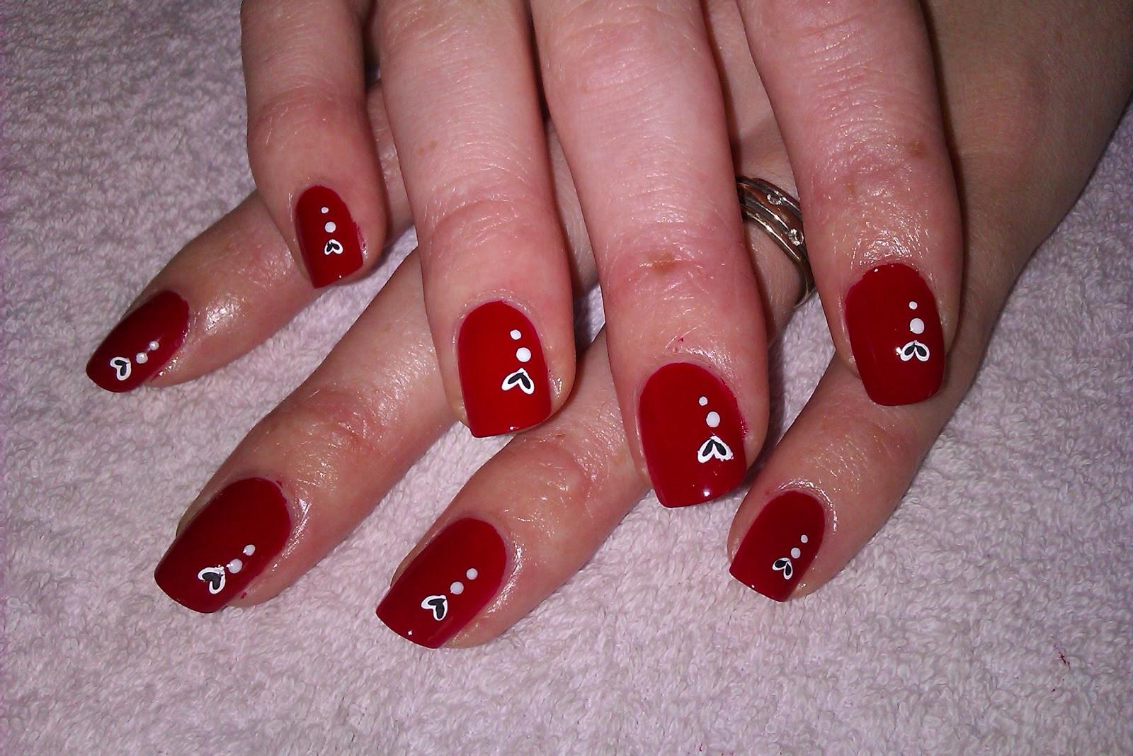 Nail Art Valentines Day Design  e Hundred Styles Valentine Day Nail Art Designs