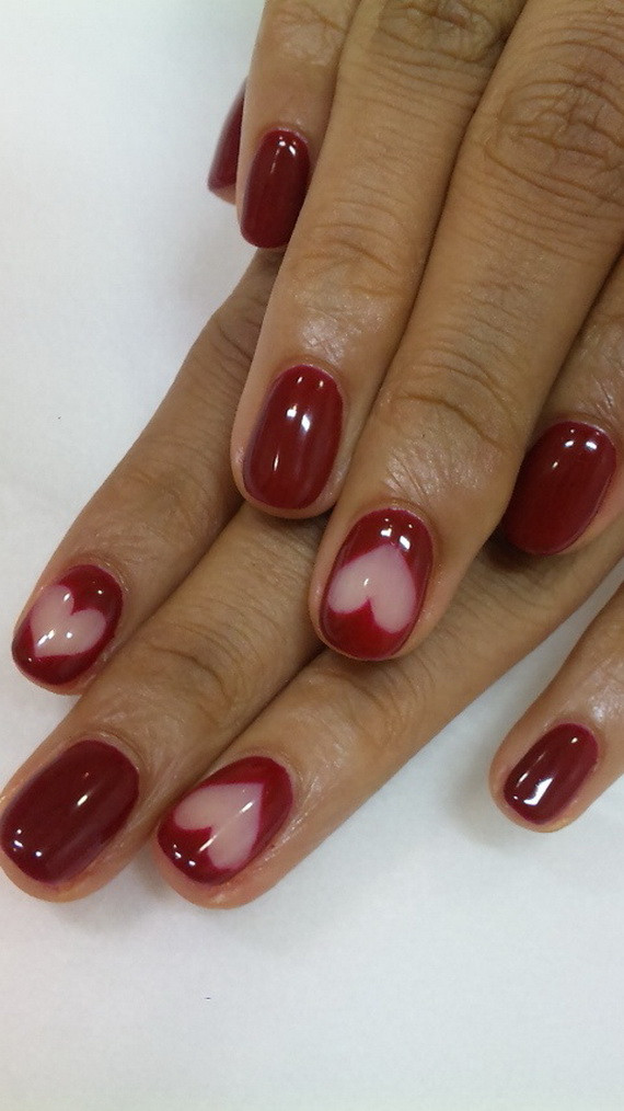 Nail Art Valentines Day Design  27 HOT VALENTINES DAY NAIL ART TO GET INSPIRED FROM