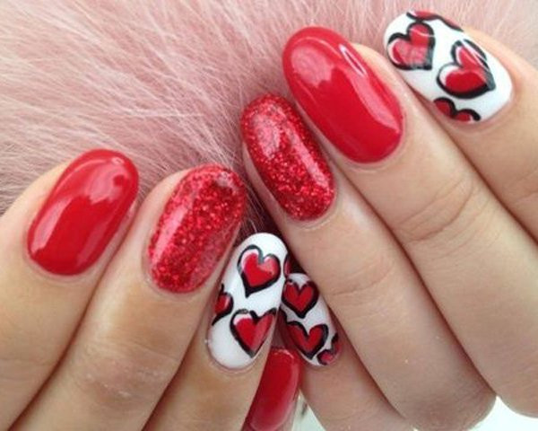 Nail Art Valentines Day Design  30 Incredible Valentines Day Special Nail Art That will