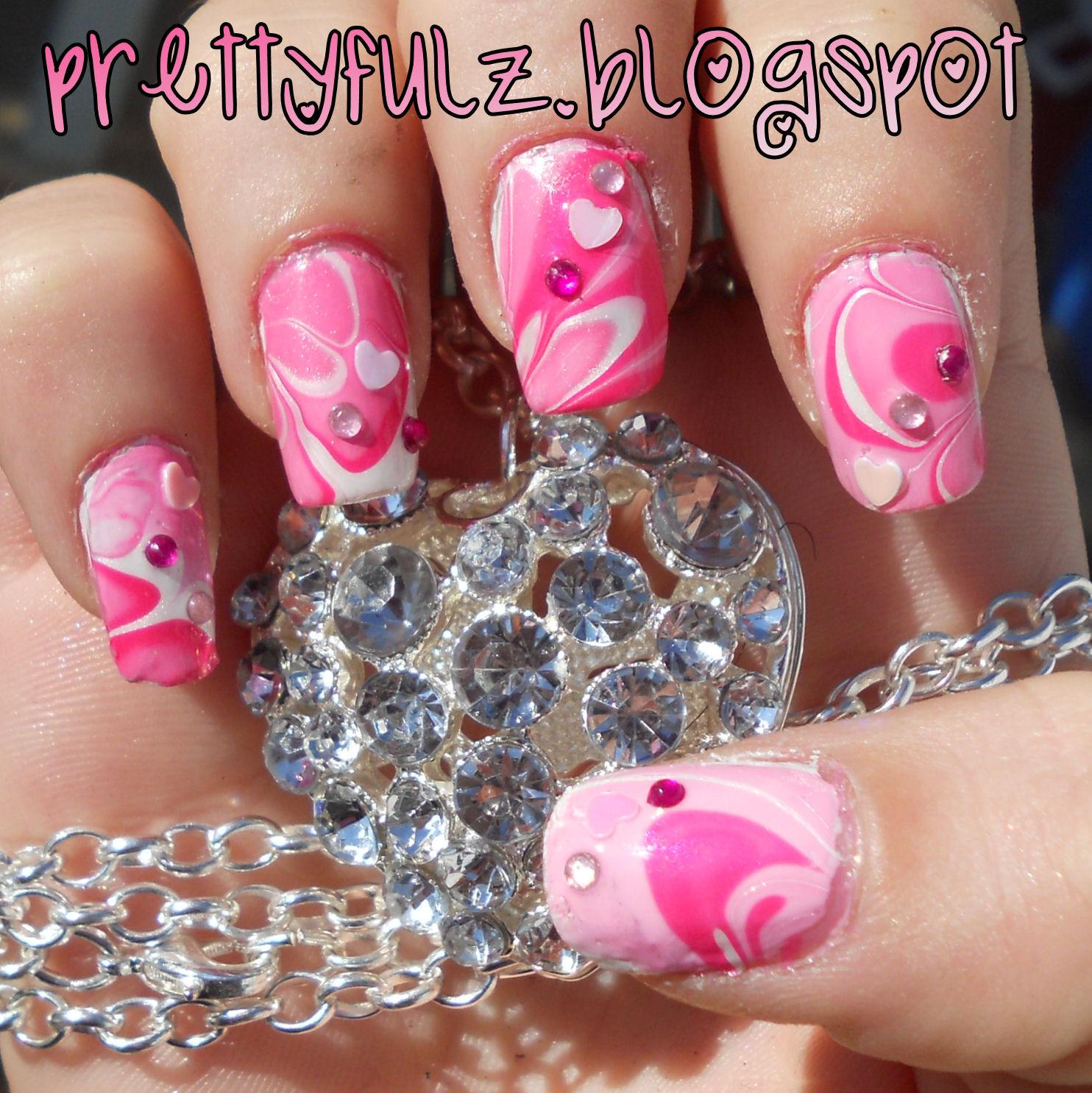 Nail Art Valentines Day Design  Prettyfulz VALENTINE S DAY NAIL ART DESIGN
