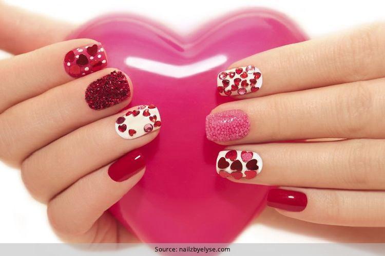 Nail Art Valentines Day Design  33 Valentine s Day Nail Art Designs Season Love Just