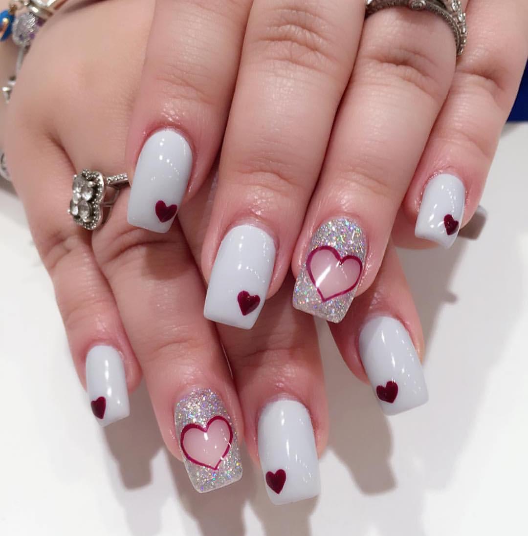 Nail Art Valentines Day Design  27 Valentine Nail Art Designs Ideas