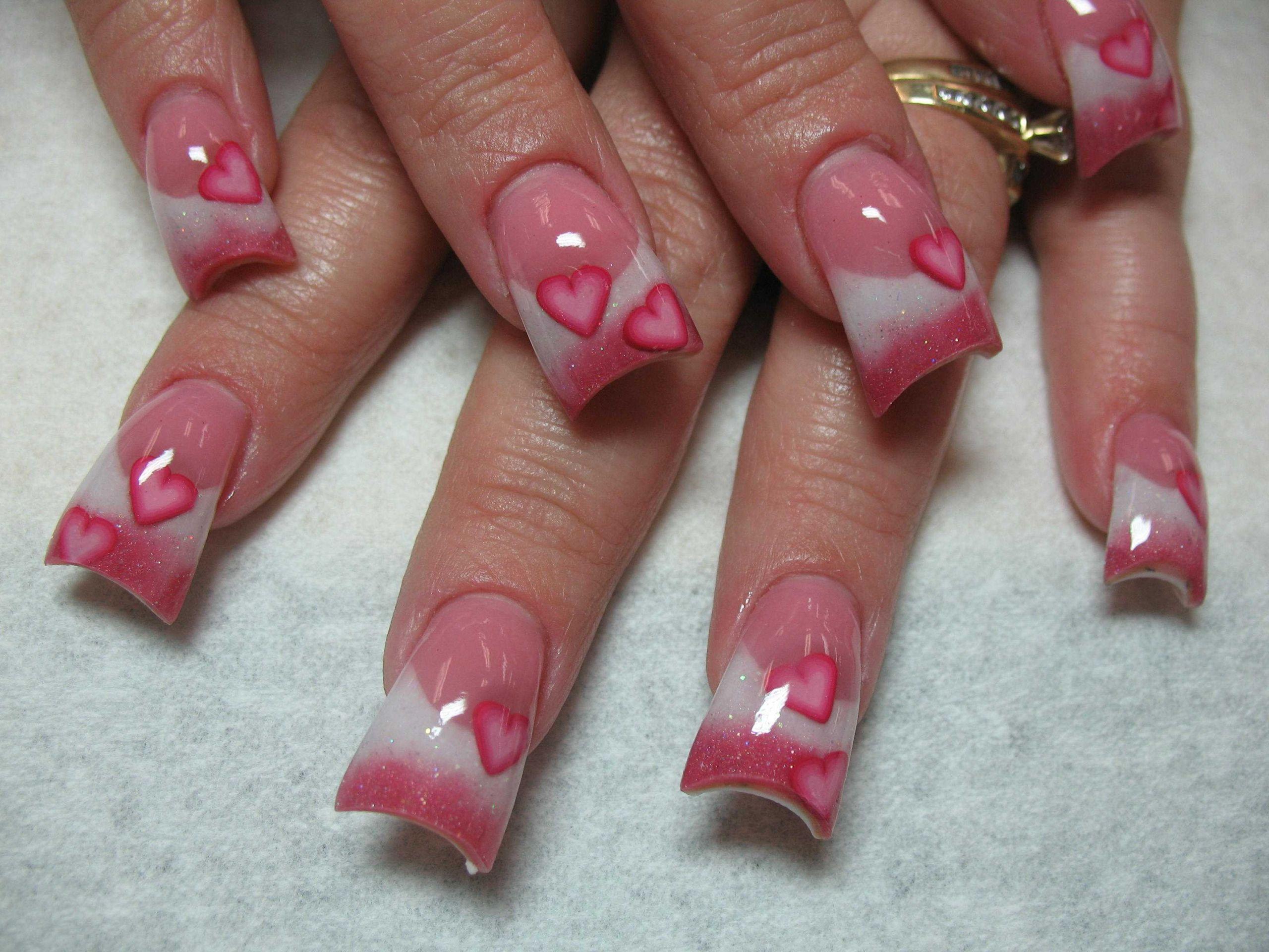 Nail Art Valentines Day Design  Valentine s Day Nails Art Design Ideas ⋆ Instyle Fashion e
