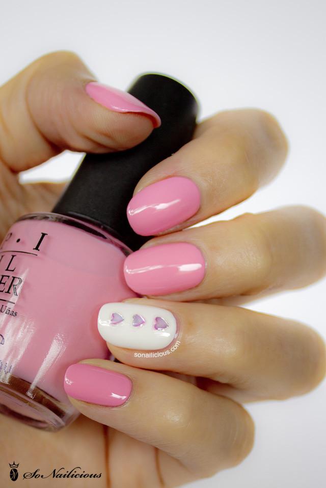 Nail Art Valentines Day Design  So cute Valentine's Day nail art – LifeStuffs