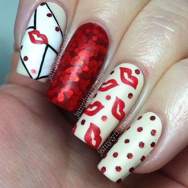 Nail Art Valentines Day Design  Valentine Day Best Romantic Nail Art Designs 2018 2019 Trends