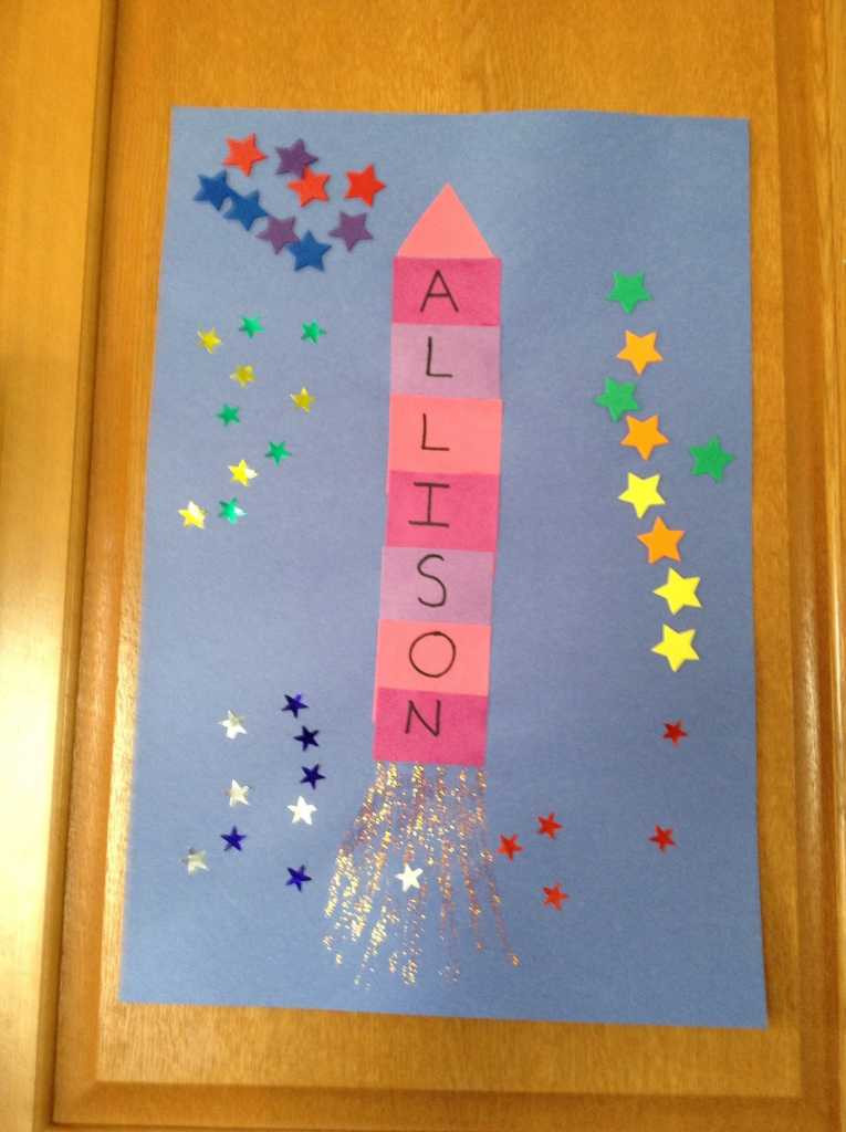 Name Crafts For Kids  20 Supersonic Super Fun Space Crafts for Kids to Make