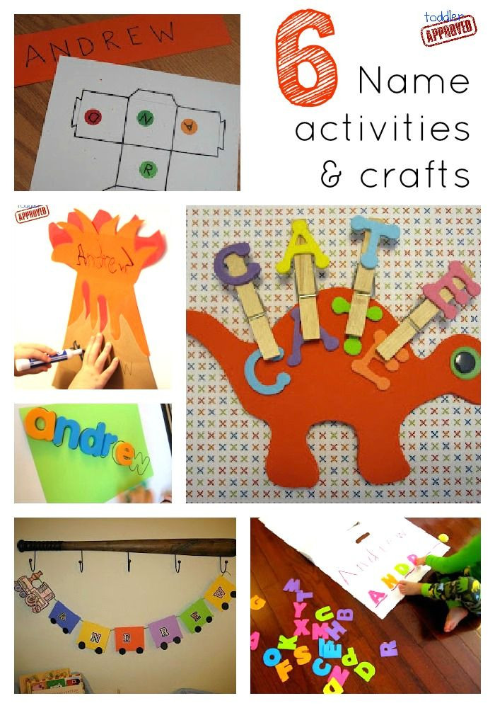 Name Crafts For Kids  27 best images about Daycare & Preschool Crafts on
