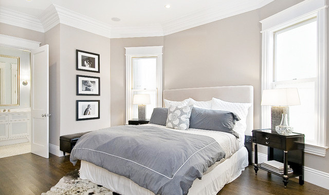 Neutral Bedroom Paint Colours  Colors Painting Ideas to Create Room Illusions