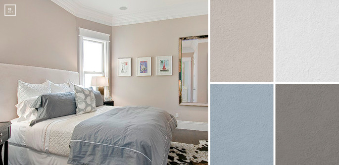 Neutral Bedroom Paint Colours  Bedroom Color Ideas Paint Schemes and Palette Mood Board