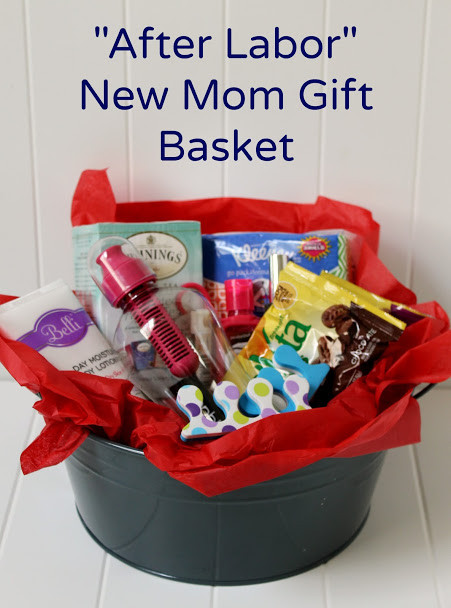 New Mother Gift Ideas  Create a DIY New Mom Gift Basket for After Labor