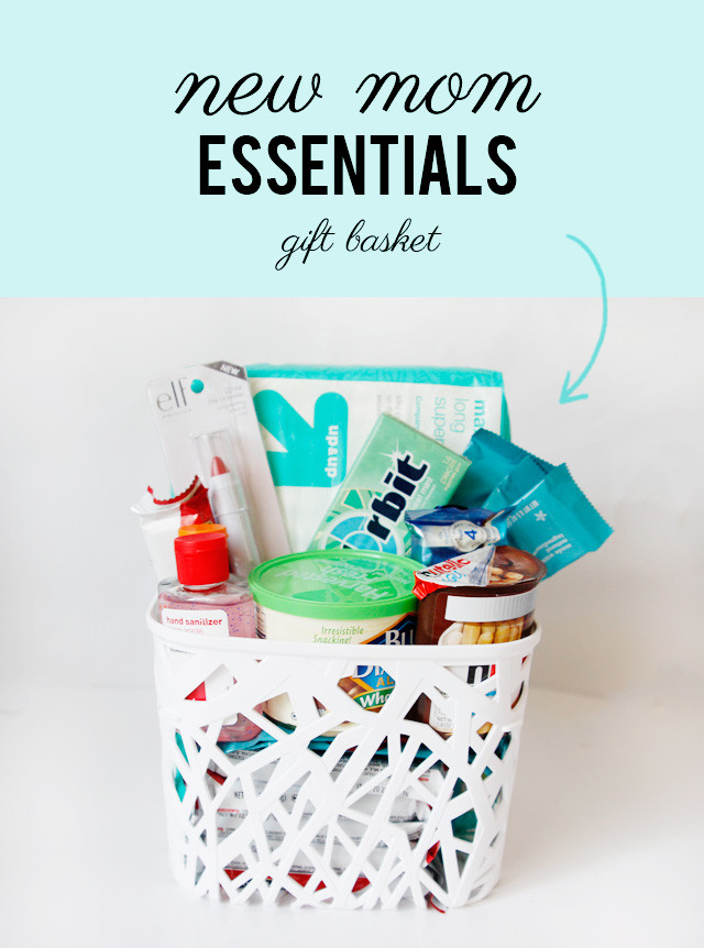 New Mother Gift Ideas  what to bring a new mom new mom essentials t basket