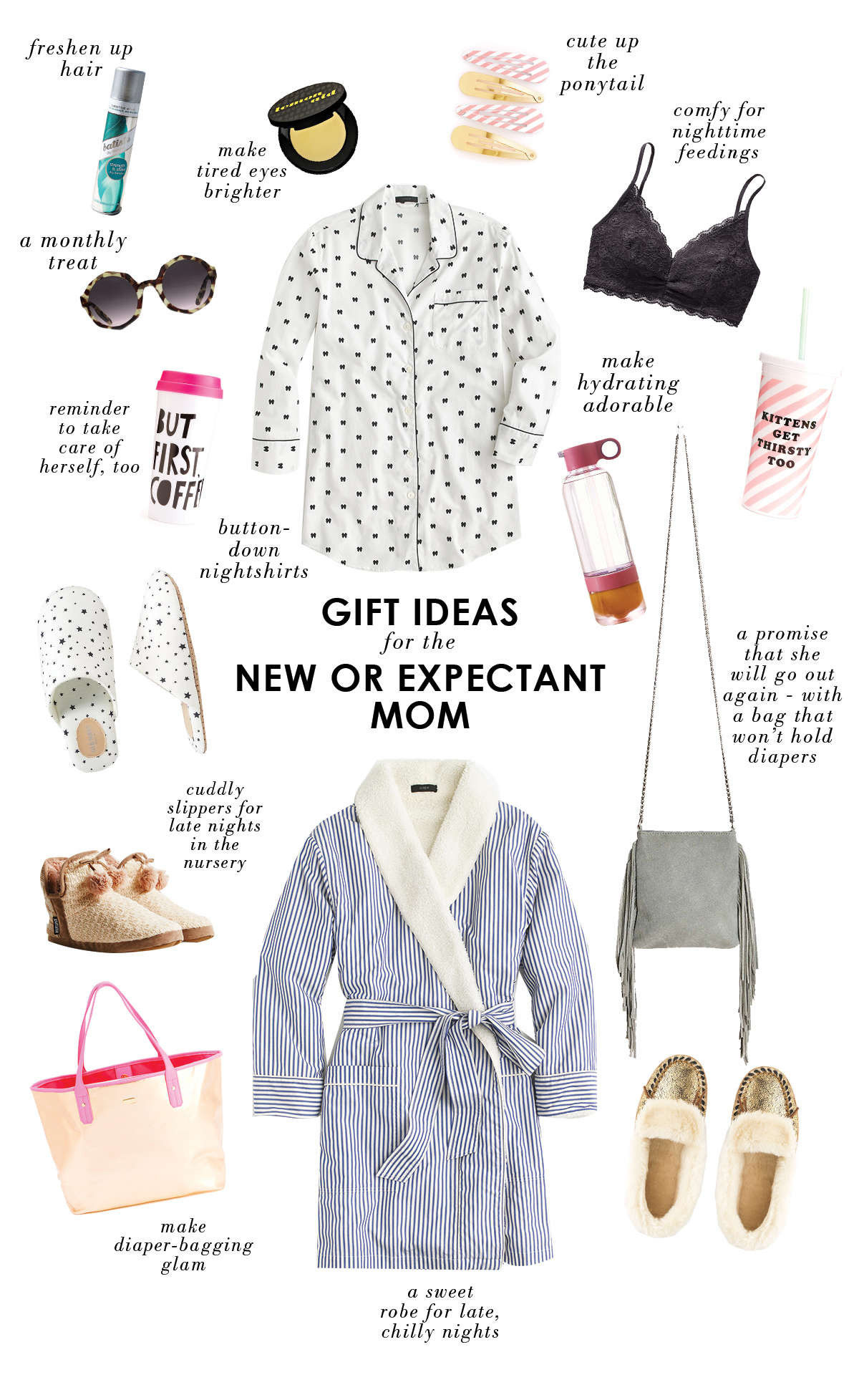 New Mother Gift Ideas  t ideas for a new or expectant mom