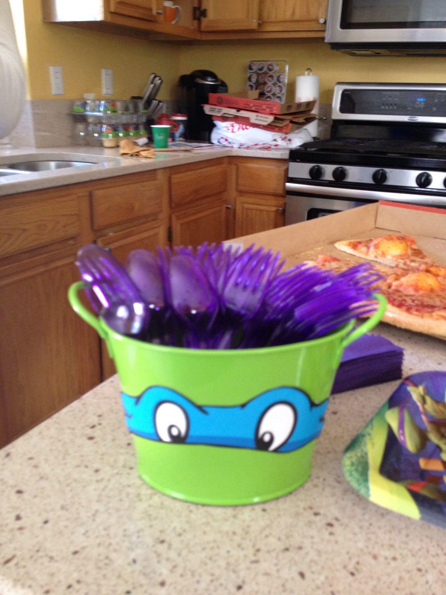 Ninja Turtle Birthday Party Food Ideas  My sons ninja turtle birthday party food decorations
