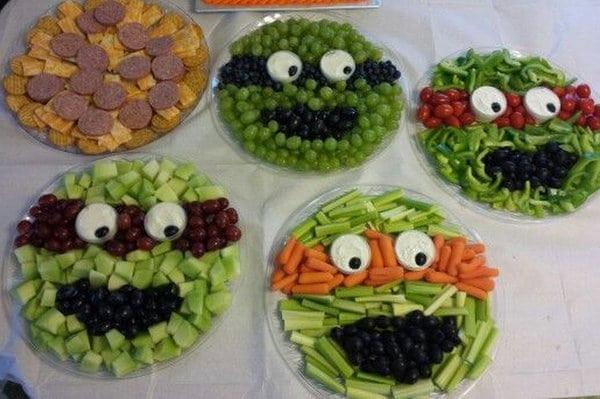 Ninja Turtle Birthday Party Food Ideas  Totally Awesome Teenage Mutant Ninja Turtles Party Ideas