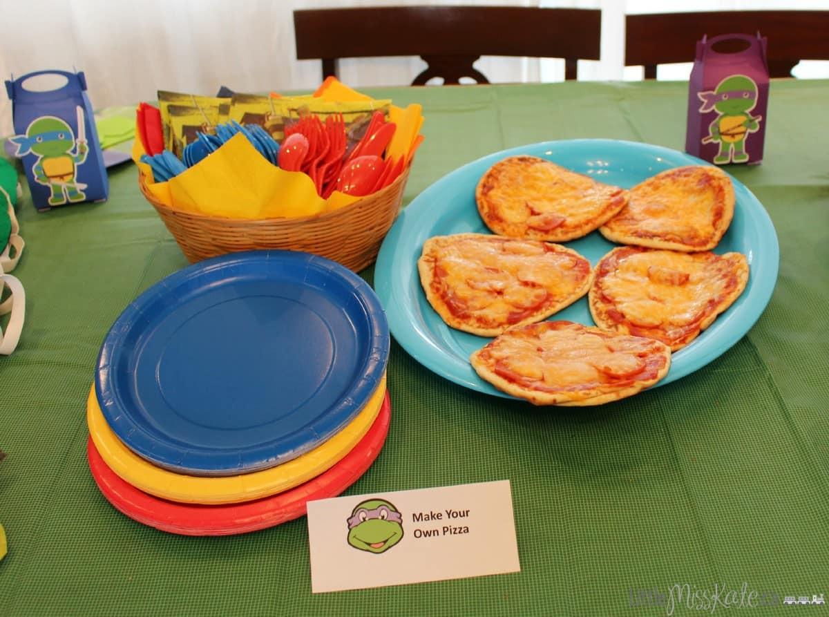Ninja Turtle Birthday Party Food Ideas  Teenage Mutant Ninja Turtle Inspired Birthday Party Food