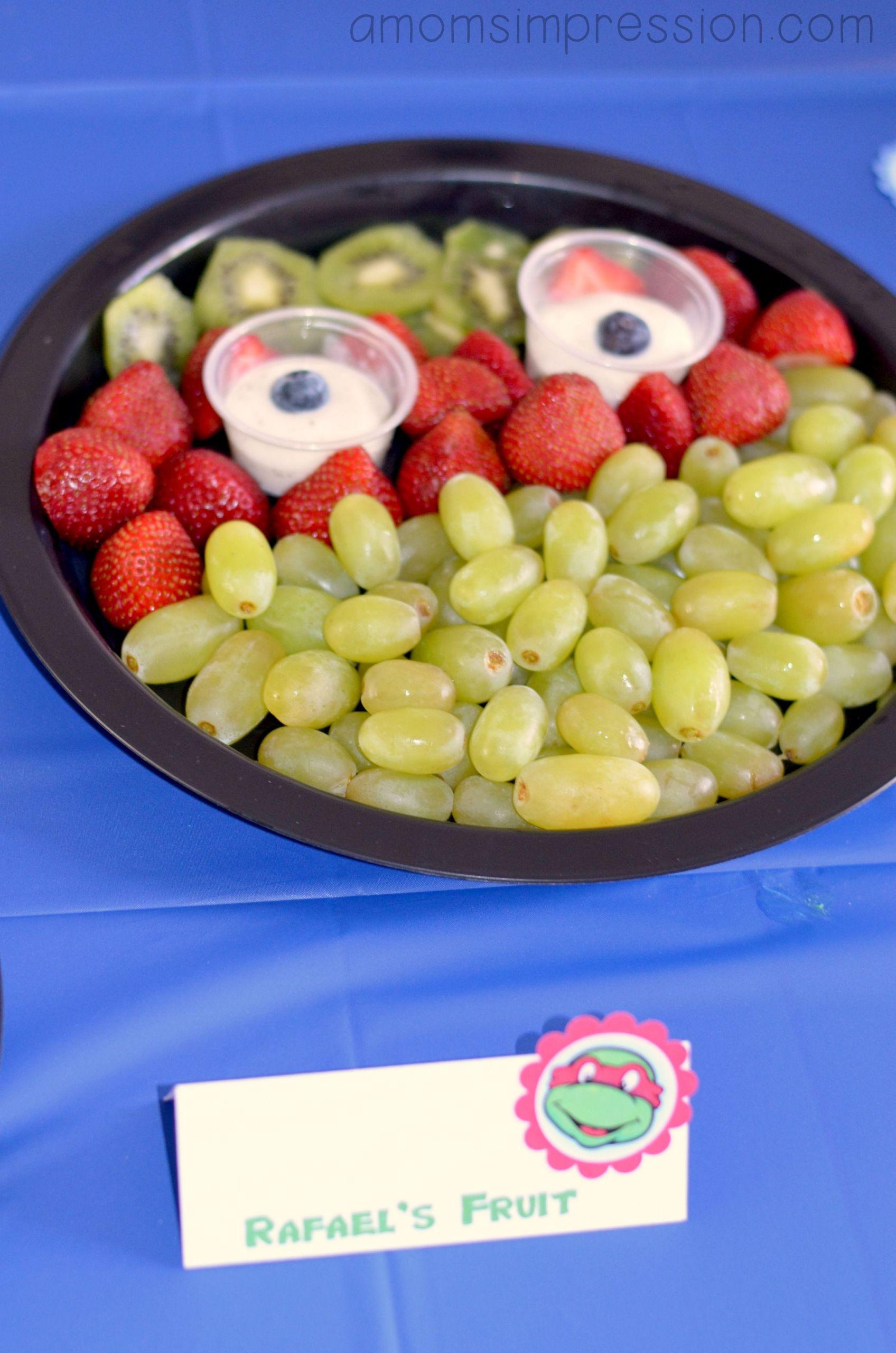 Ninja Turtle Birthday Party Food Ideas  Teenage Mutant Ninja Turtles Birthday Party food ideas