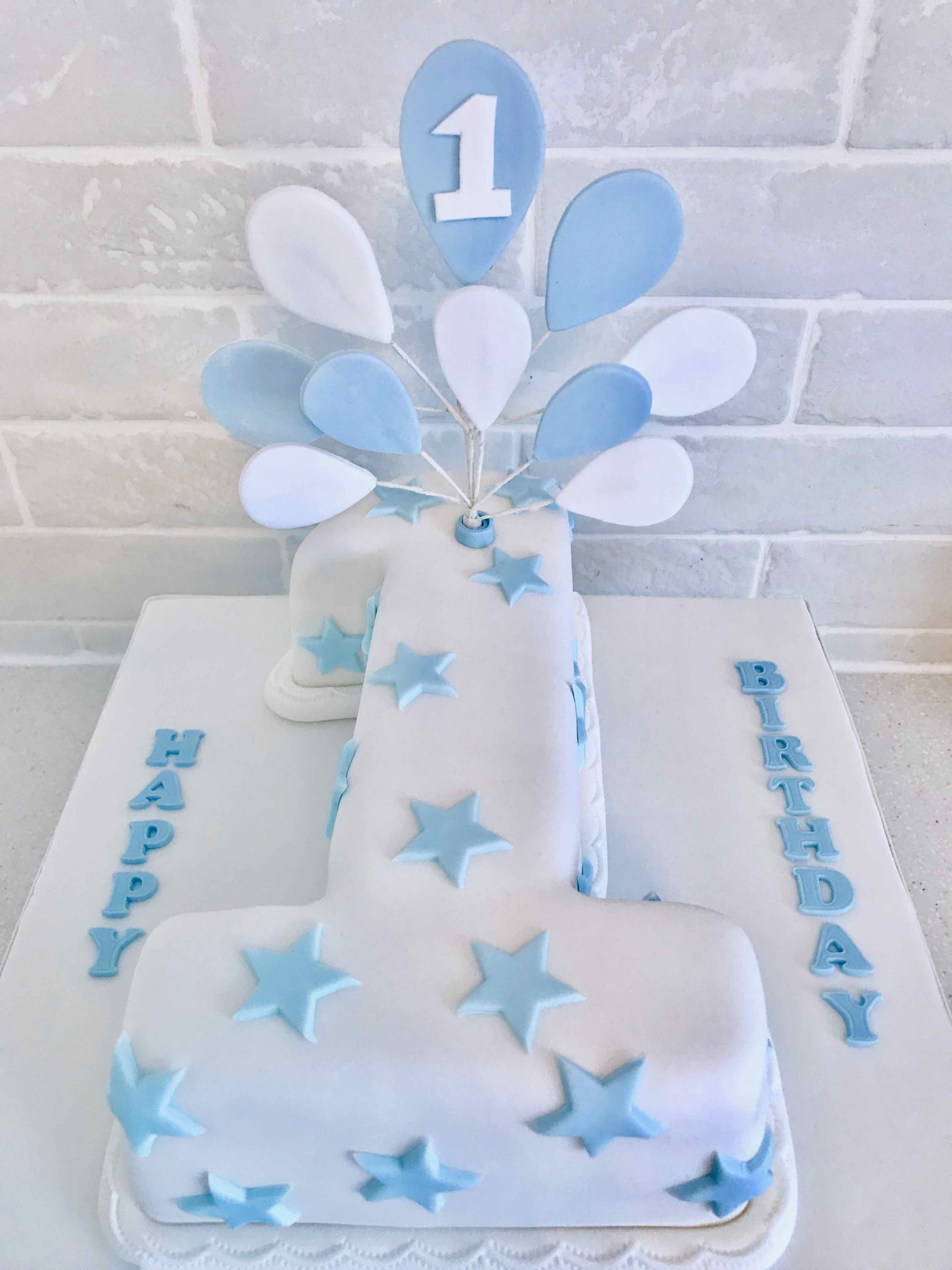 Number 1 Birthday Cake  First Birthday Number 1 Cake Serendipity Cake pany
