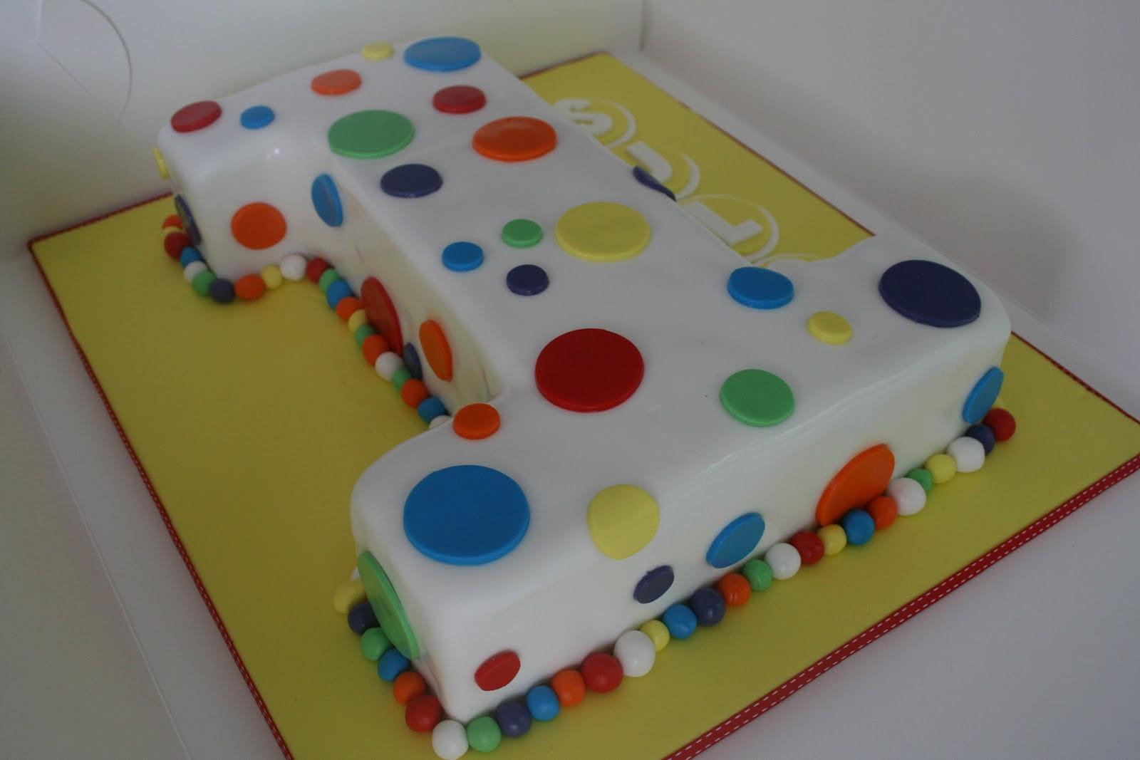 Number 1 Birthday Cake  Baked By Design Number 1 Birthday cake