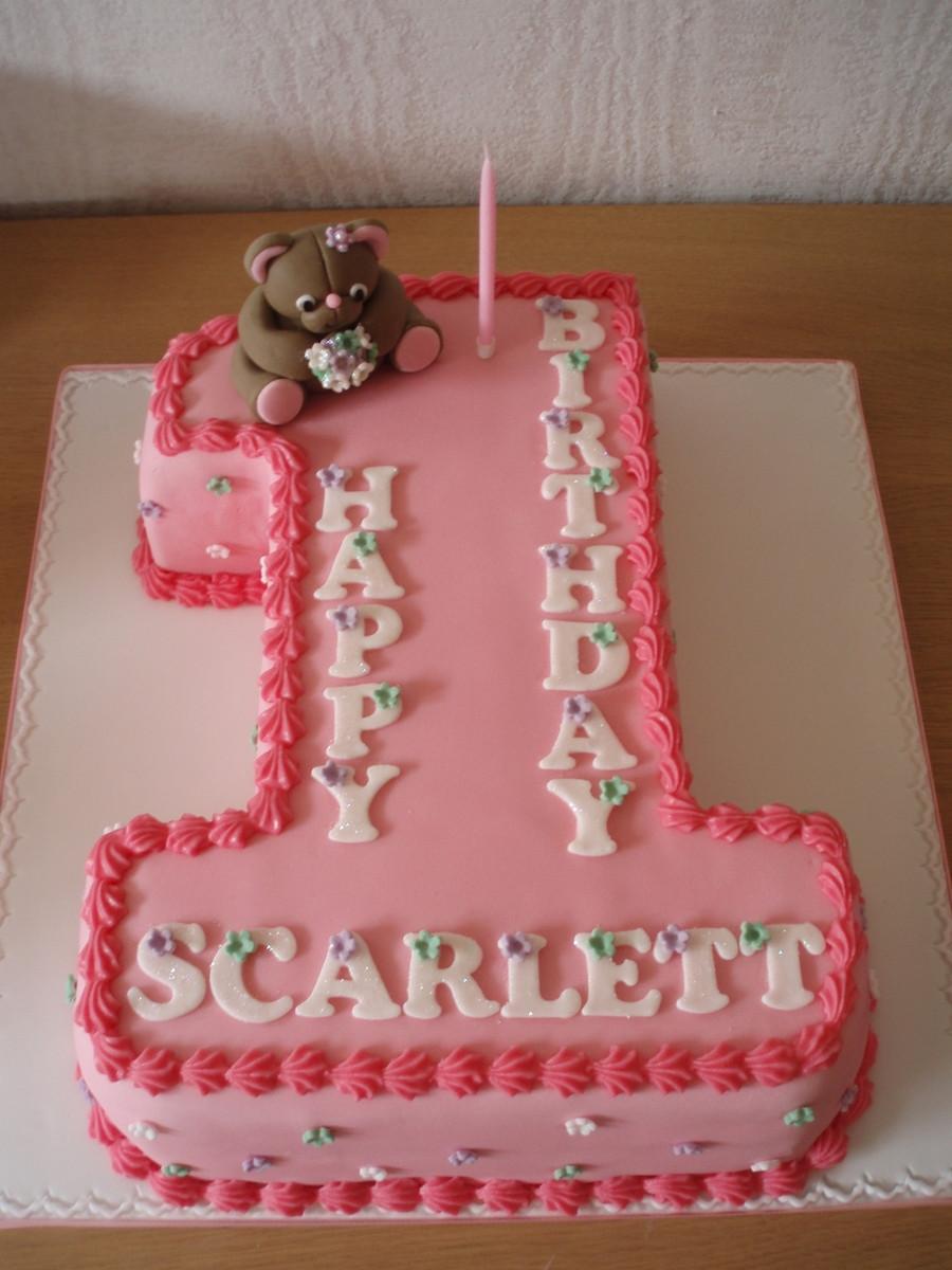 Number 1 Birthday Cake  Number e Birthday Cake CakeCentral