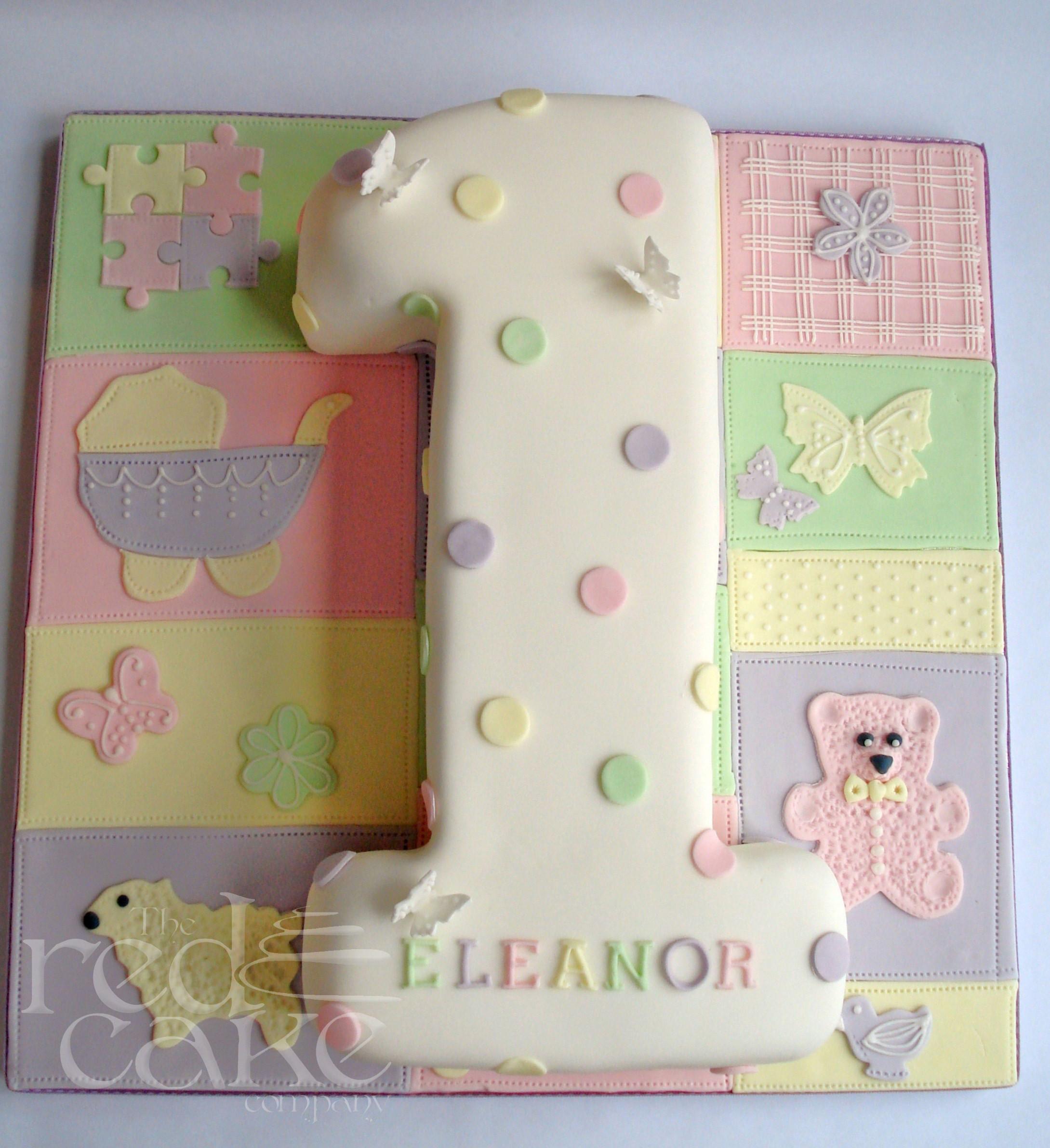 Number 1 Birthday Cake  Girls Number 1 Birthday Cake
