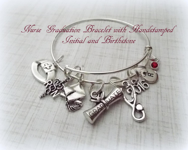 Nursing Graduation Gift Ideas  Nurse Graduation Gift RN Graduation Gift by HopeisHipJewelry