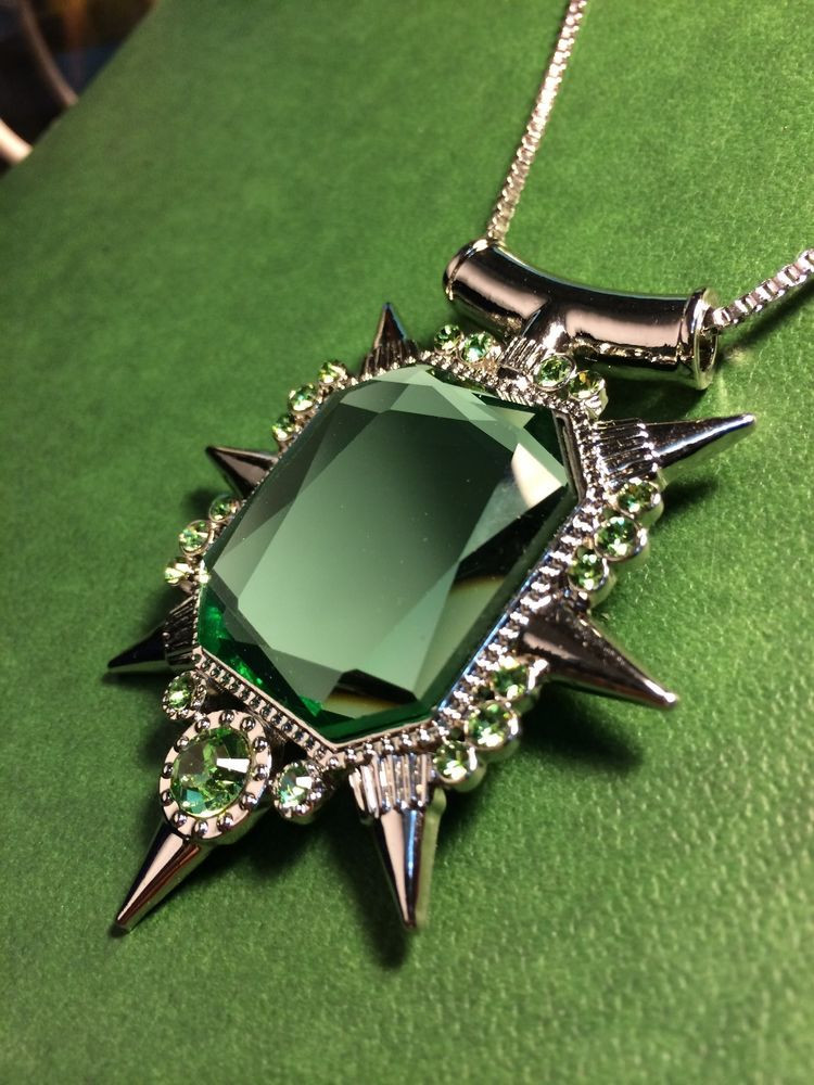 Once Upon A Time Necklace  ce upon a time wicked witch Zelena Glinda necklace
