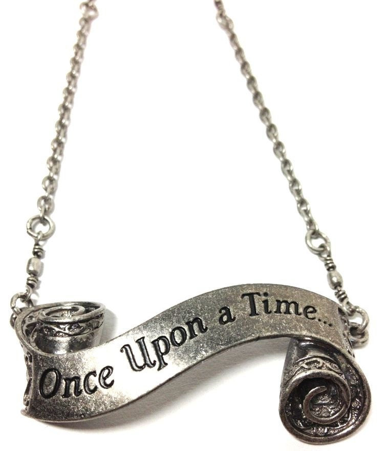 Once Upon A Time Necklace  ce Upon a Time Short Necklace
