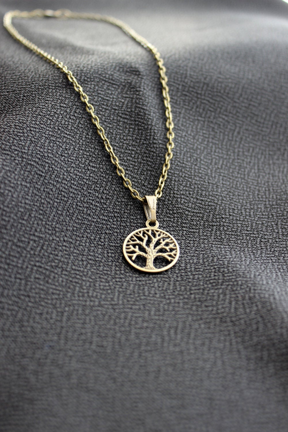 Once Upon A Time Necklace  ce Upon a time Regina Apple Tree Necklace bronze handmade
