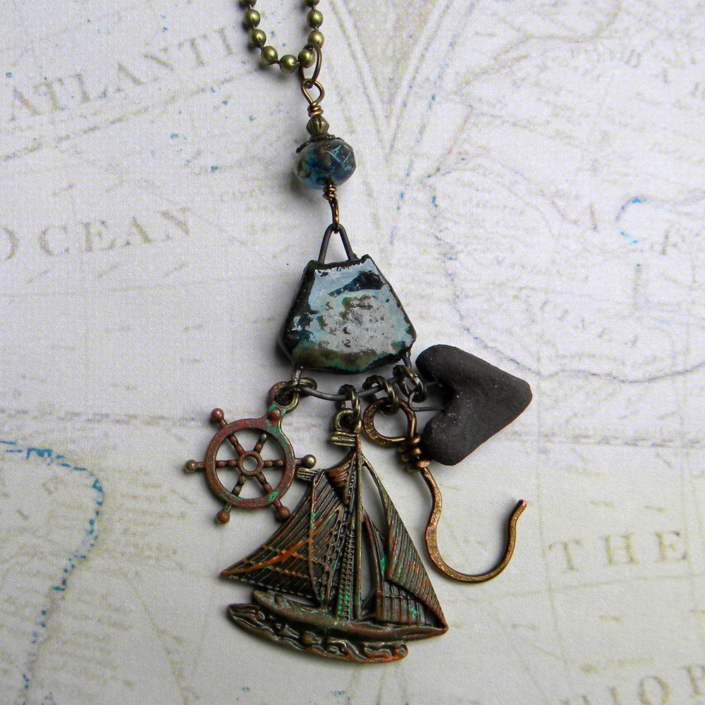 Once Upon A Time Necklace  Captain Hook Necklace ce Upon A Time Necklace OUAT