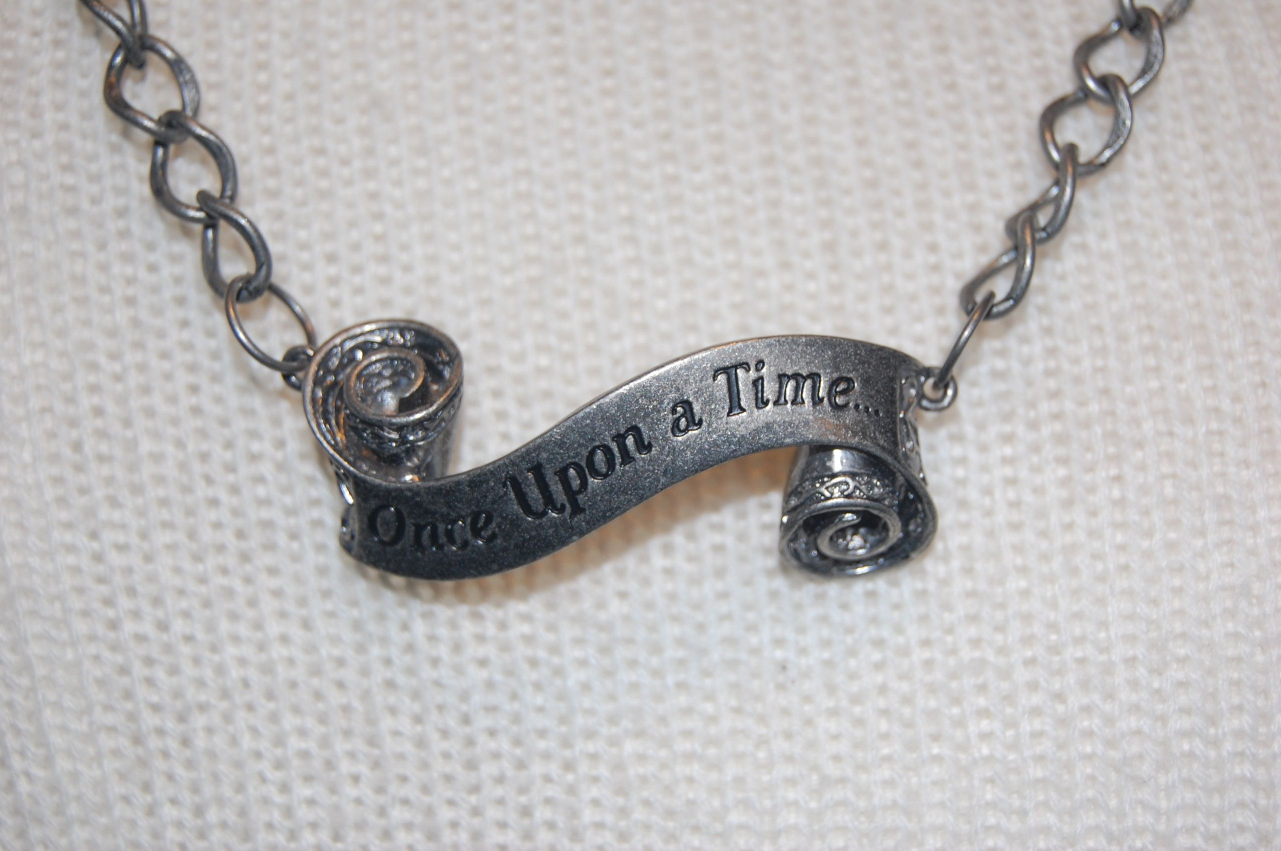 Once Upon A Time Necklace  ce Upon A Time Necklace Fairy Tale Necklace · Wicked