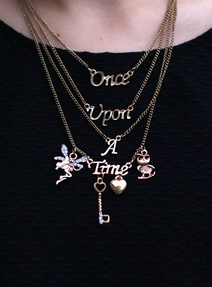 Once Upon A Time Necklace  ce Upon a Time Necklace Sale on Storenvy