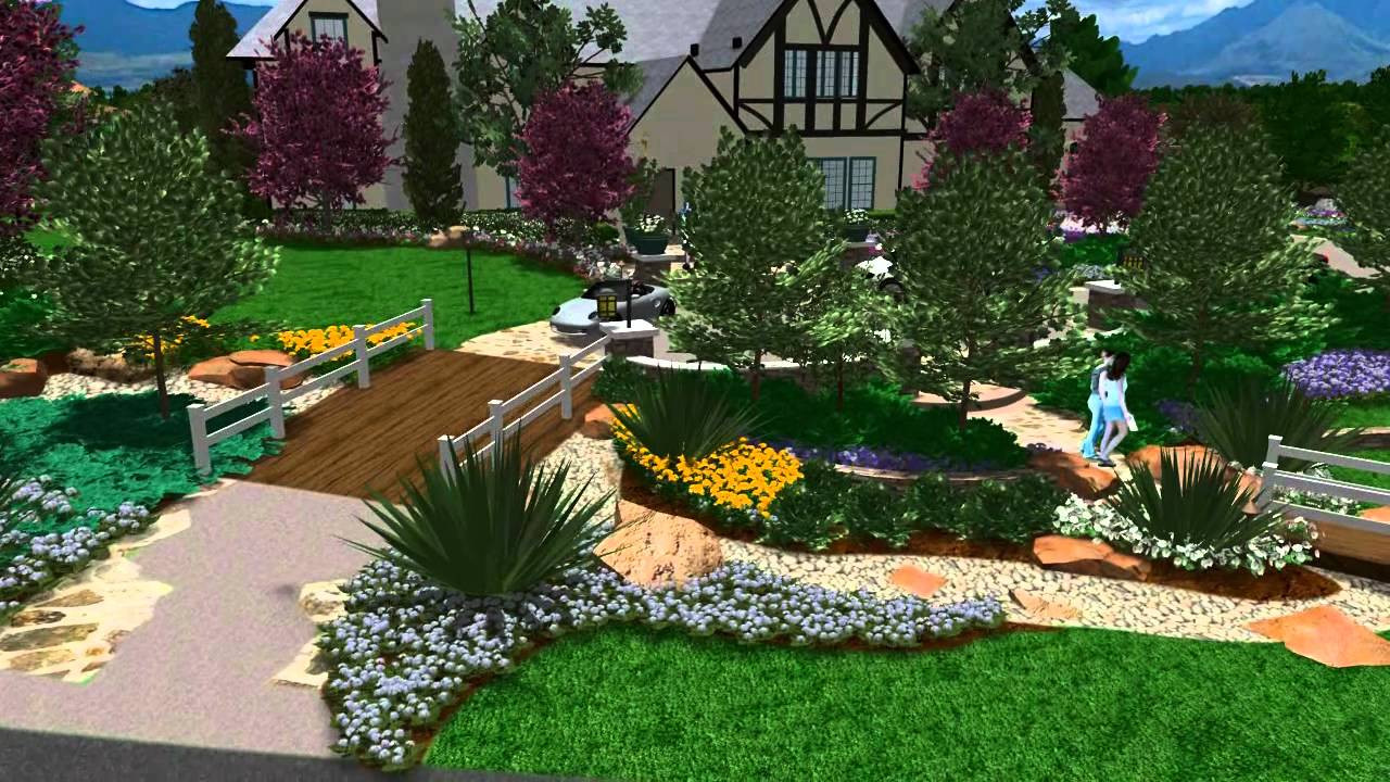 Online Landscape Design  3D Landscape design Virtual Presentation Studio presents