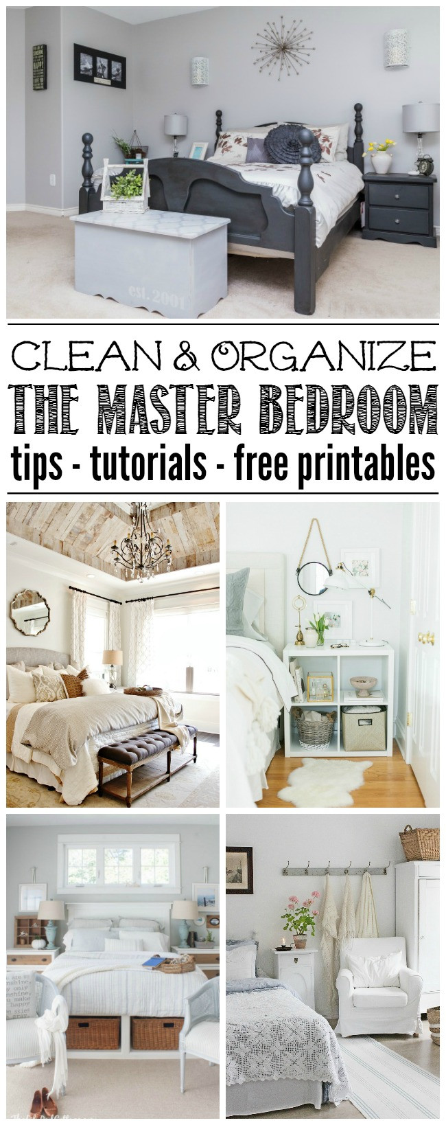 Organization Ideas For Bedroom  Master Bedroom Organization HOD Clean and Scentsible