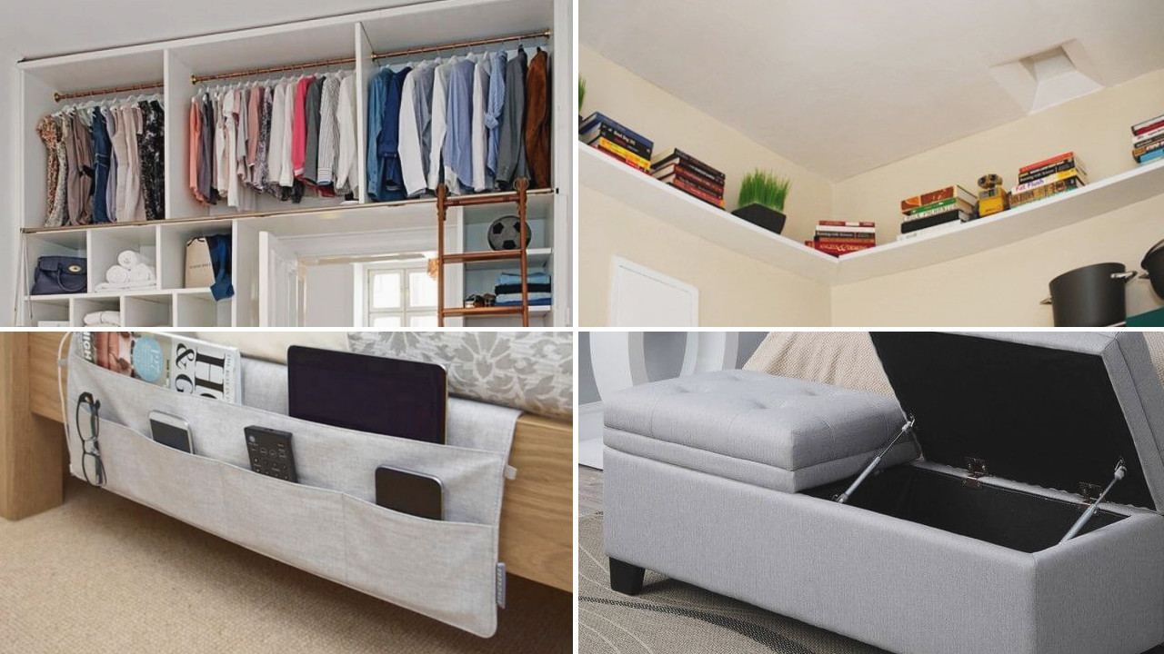 Organization Ideas For Bedroom  10 Bedroom Organization Ideas to Boost Your Mood Simphome