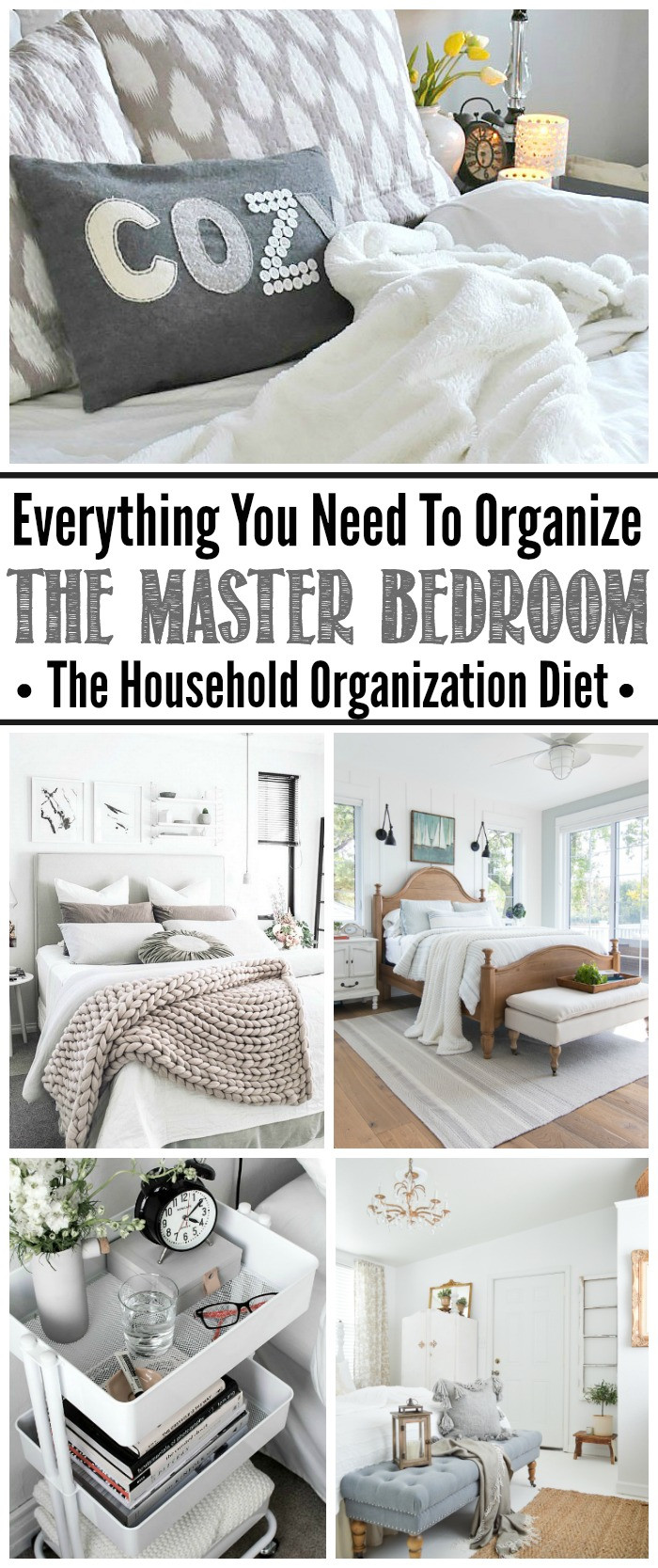 Organization Ideas For Bedroom  How to Organize the Master Bedroom September HOD Clean