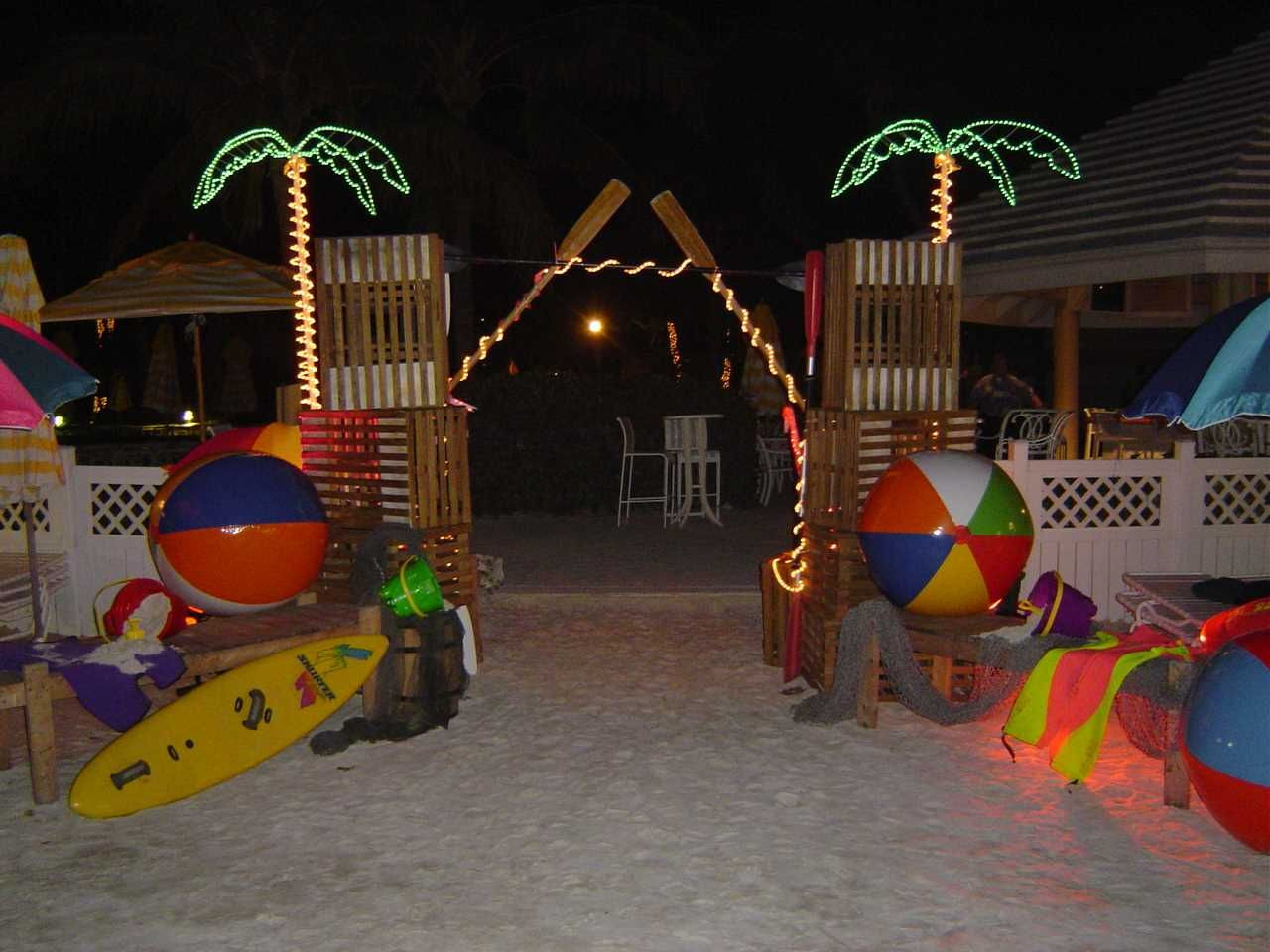 Outdoor Beach Party Ideas  Set the scene for your Rio Movie Night with beach
