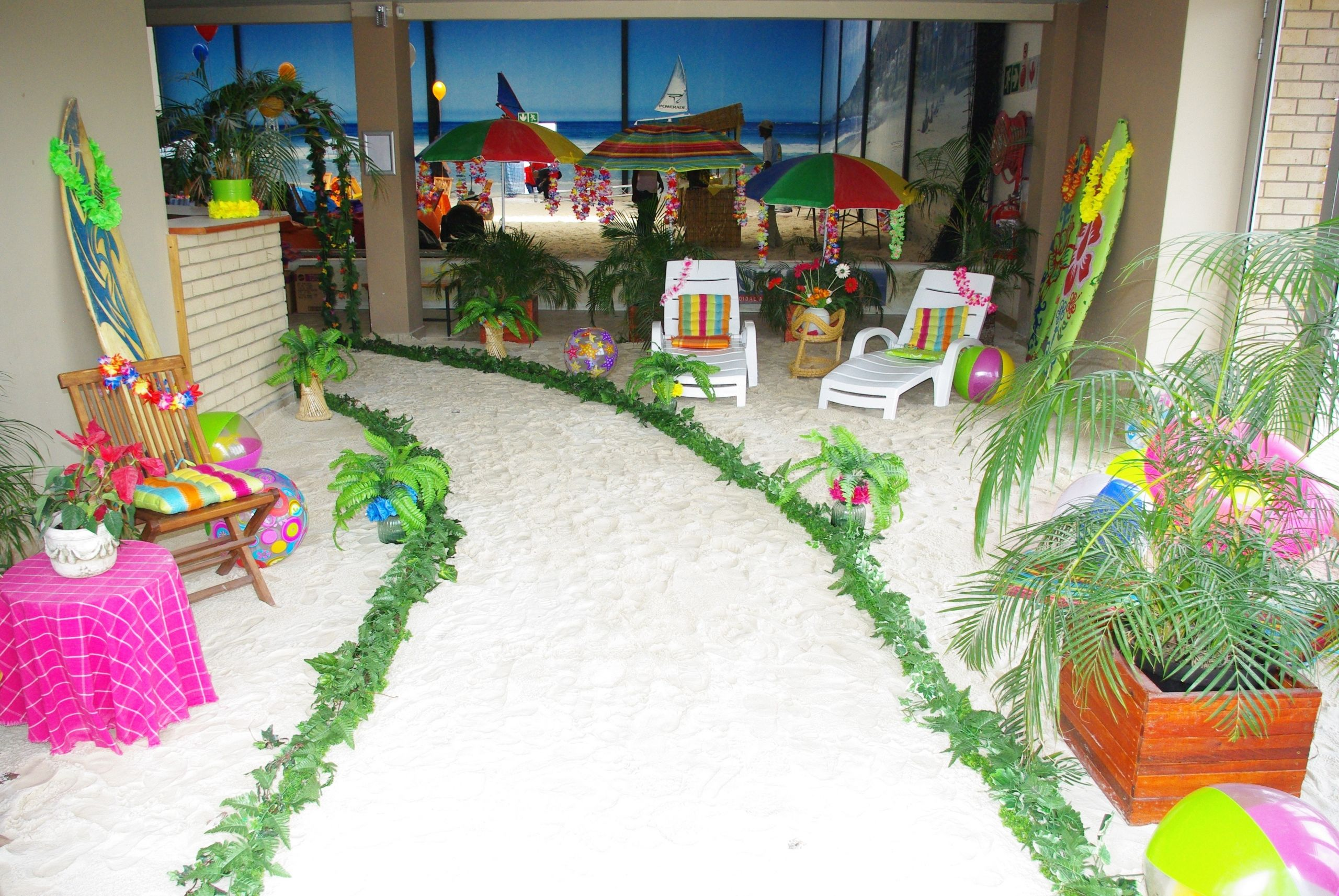 Outdoor Beach Party Ideas  Year end party example