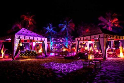 Outdoor Beach Party Ideas  Beach party setup Chill scene