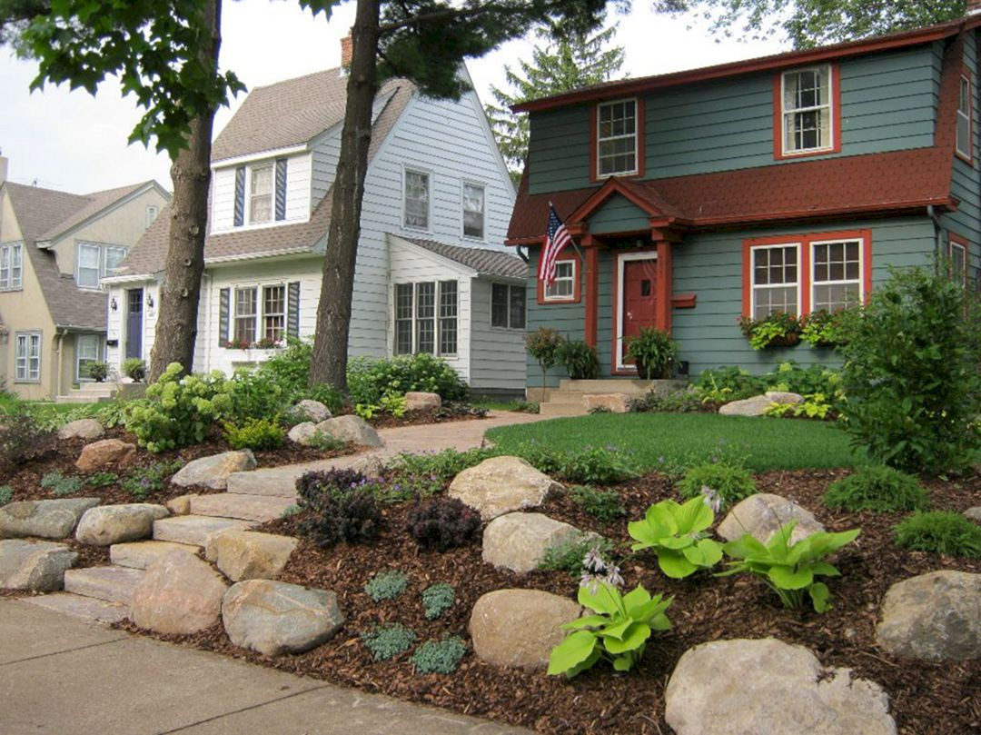 Outdoor Landscape Curb Appeal  25 Stunning Small Curb Appeal Ideas For Your Front Yard