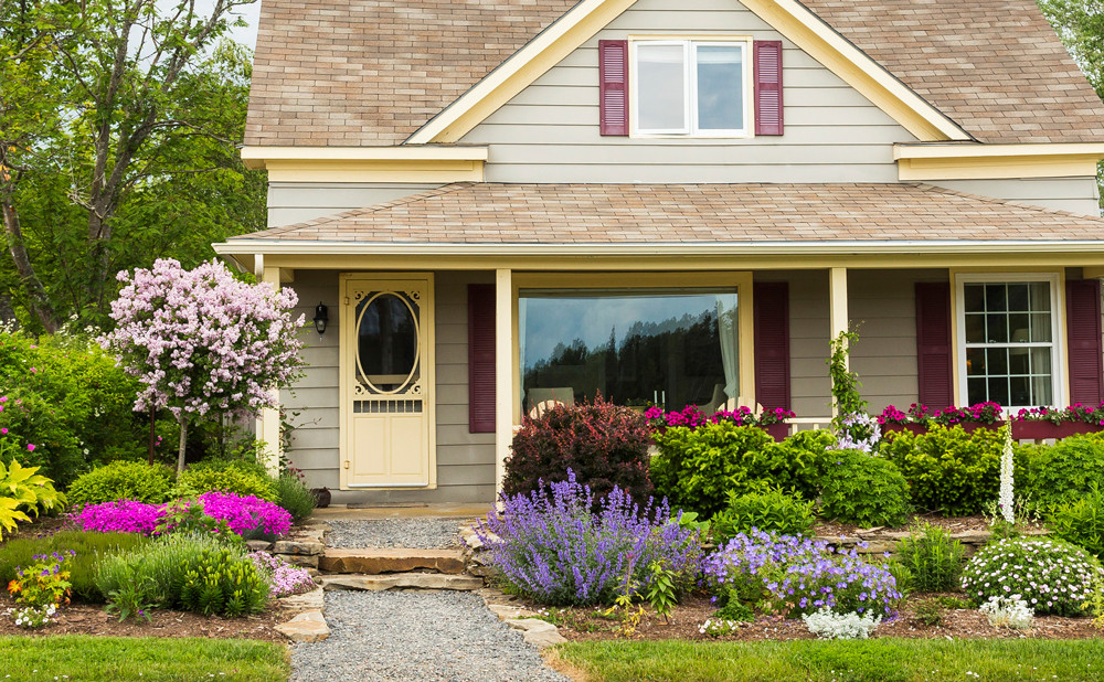 Outdoor Landscape Curb Appeal  4 Tips for Curb Appeal Landscaping Iowa City Real Estate