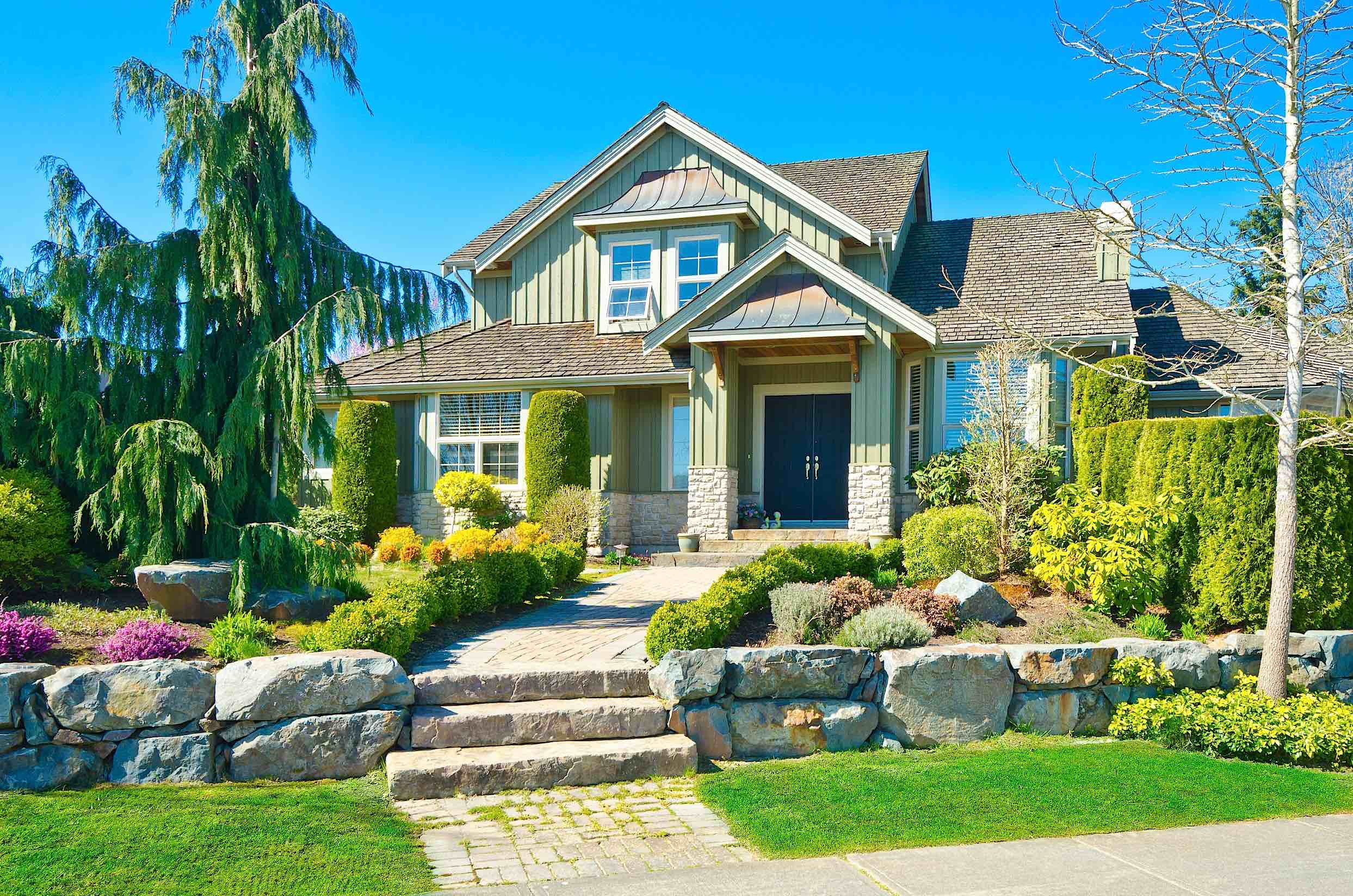 Outdoor Landscape Curb Appeal  Easy Tricks To Improve Your Home s Curb Appeal