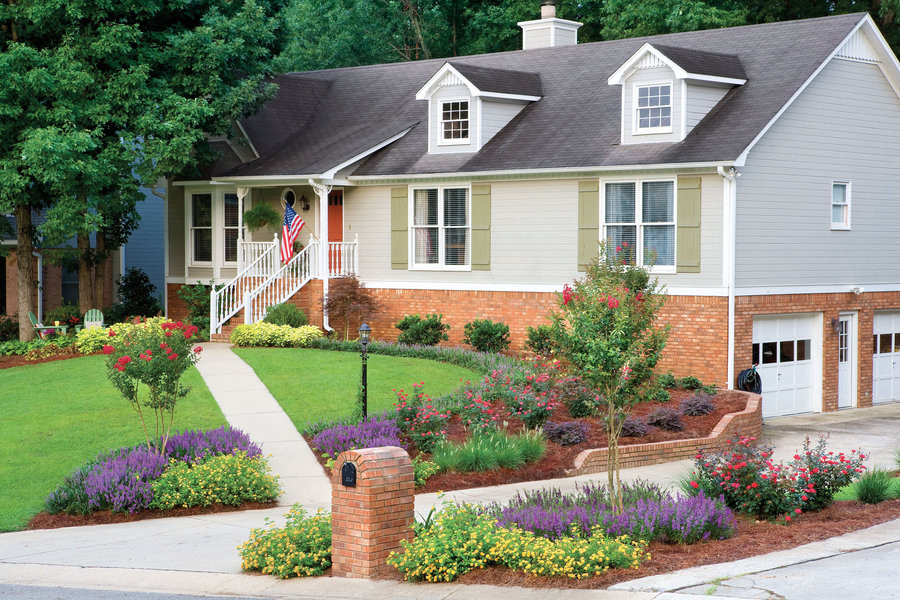 Outdoor Landscape Curb Appeal  5 Curb Appeal Tips The Honey b Home