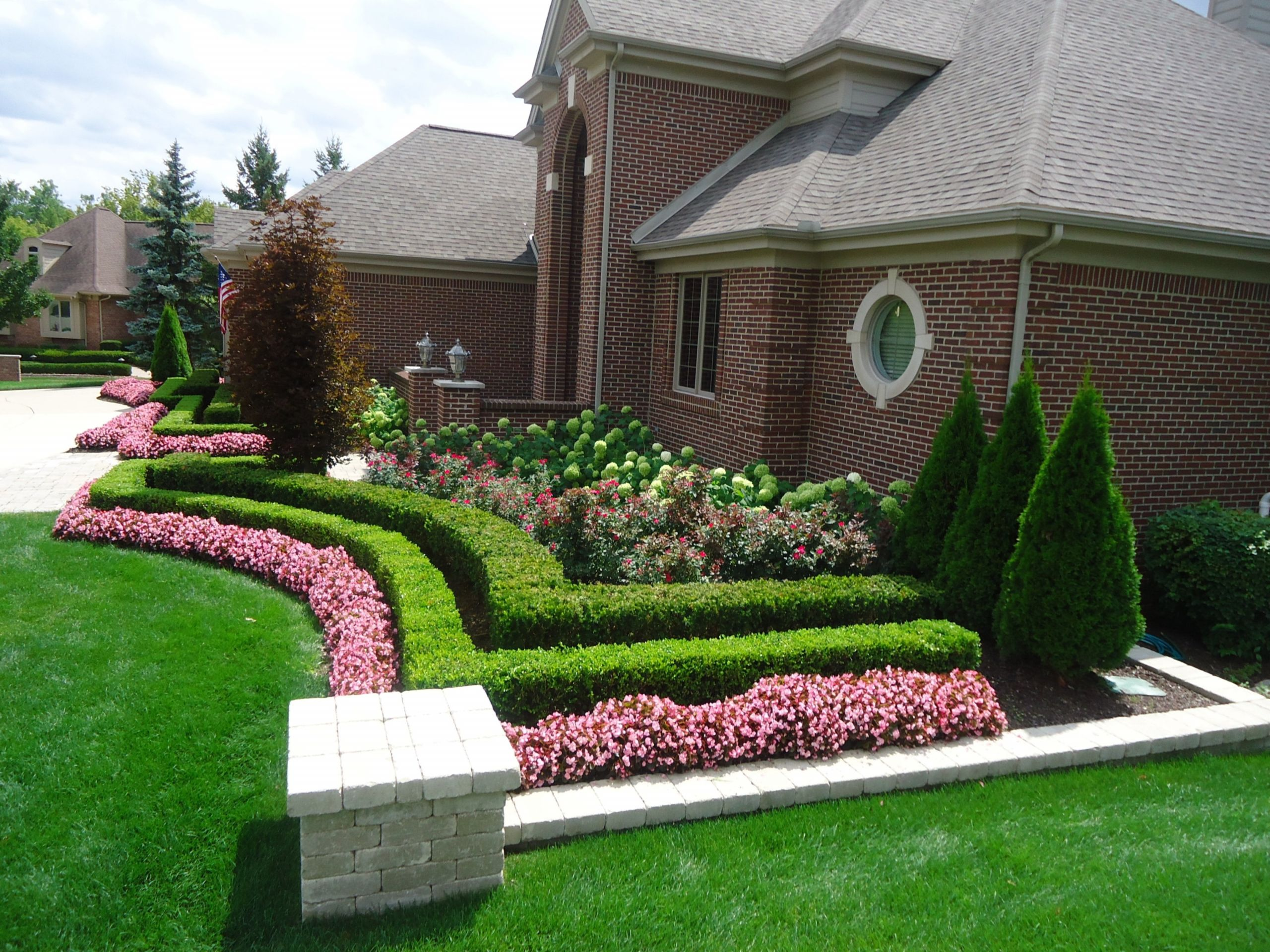 Outdoor Landscape Curb Appeal  Curb Appeal Landscaping Ideas