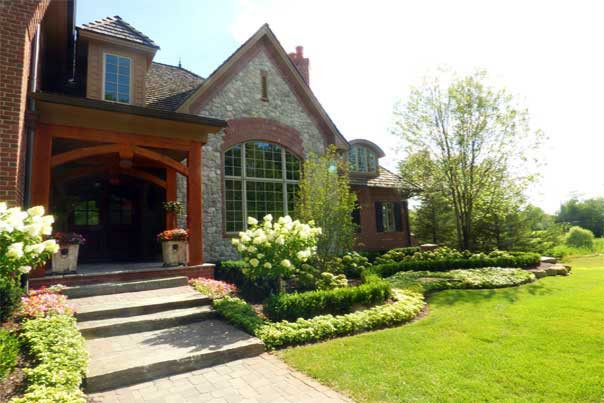 Outdoor Landscape Curb Appeal  Minneapolis Curb Appeal and Front Yard Landscaping