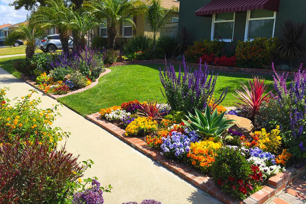 Outdoor Landscape Curb Appeal  Front Yard Landscaping Ideas for Curb Appeal