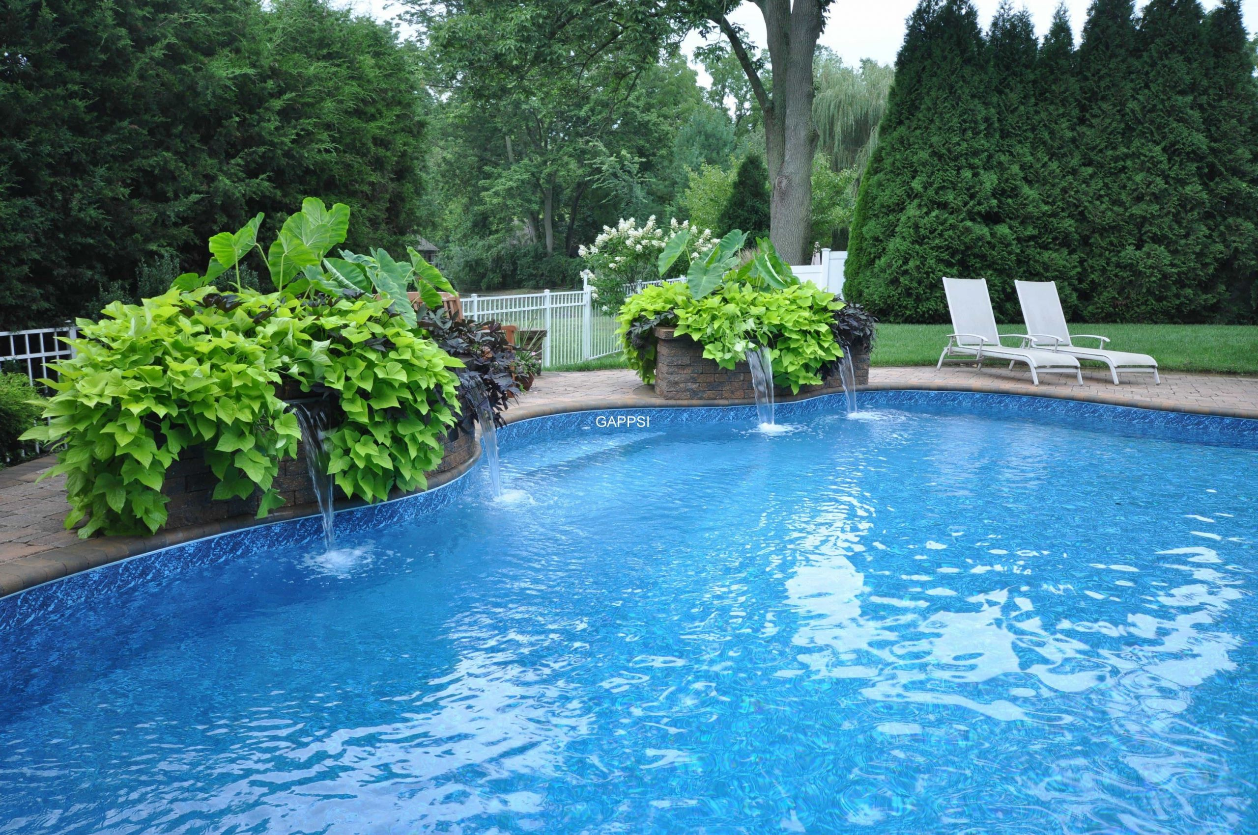 Outdoor Landscape Pool  Outdoor Water Features & Pool Landscaping
